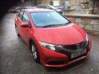 2012 Honda civic 1.8 se 5 dr.(20000 MILES)