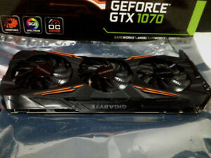 sell Gigabyte gtx 1070 and Asus gtx 760