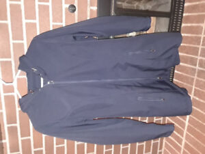 Great condition size 1x George navy blue fall/spring jacket coat