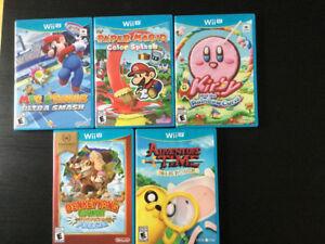 Jeux vidéos Nintendo WII U
