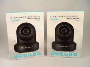 2 Amcrest ProHD Model IPM-841B 1080P Security Cameras