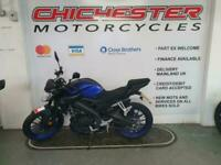 YAMAHA MT 125 2020 IMMACULATE CONDITION ONLY 66 MILES
