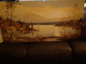 Original Oil Painting by Oakville Native, Steinburghoffer