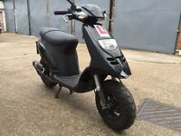 2007 Typhoon 50cc learner legal 50 cc scooter project. Starts and runs.