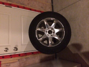 """4 19"""" Tires and alloys for $300"""