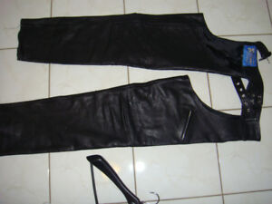 Leather chaps women's