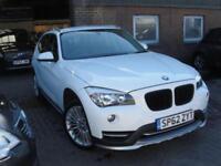 2012 62 BMW X1 2.0 XDRIVE18D XLINE 5D AUTO 141 BHP DIESEL