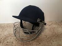 Cricket helmet with face guard. Men/large boys size.