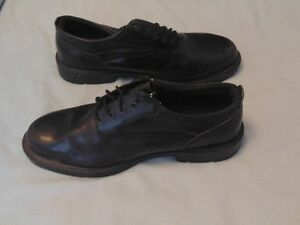 Dunham RUGGARDS Black Leather Oxford Safety Shoes 16EEEE London Ontario image 2