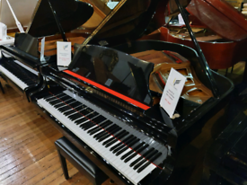 Kawai KG-1E baby grand piano black polyester for sale