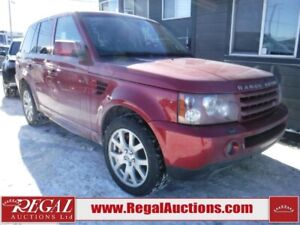 2008 Land Rover RANGE ROVER SPORT SUPERCHARGED 4D UTILITY 4WD SU