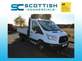 2015 FORD TRANSIT SINGLE CAB FACTORY TIPPER *LOW MILES* NEW SHAPE