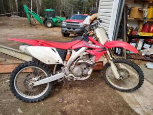 (Lac des Écorces)motocross Honda crf 450r 2006
