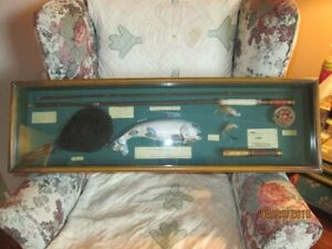 Fishing Themed Shadow Box - Great for Man Cave