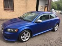 0909 Volvo C30 1.6 R-Design Sport Blue 3 Door 70152mls MOT 12m