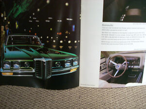 1970 Pontiac sales brochure Peterborough Peterborough Area image 4