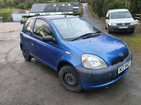 Toyota Yaris 1.0 🚗Perfect first Car (not polo clio golf 206 207 107)