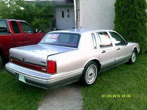 1991 Ford lincoln town car