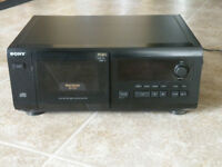 Sony 50 CD slot Compact Disc Player For Sale
