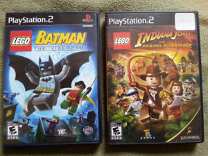 [PS2] Lego Batman & Lego Indiana Jones