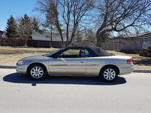2004 Chrysler Sebring Limited Coupe (2 door) Convertible