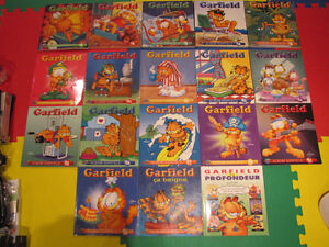 18 Livres de Collection Garfield