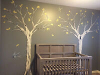 AFFORDABLE FEATURE WALL MURALS FROM $100