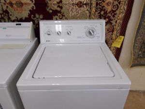 Kenmore washer with 90 day warranty. 24 inches wide. $299.
