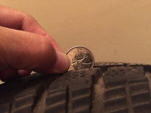 205/70R15 Toyo Tires on Acura Rims (REDUCED) Regina Regina Area image 2