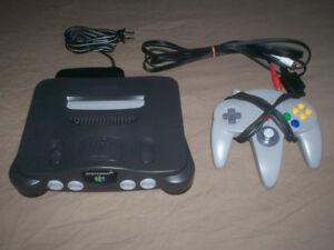 NINTENDO CONSOLES-NES-N64-GAMECUBE-WII + PS 2 SLIM