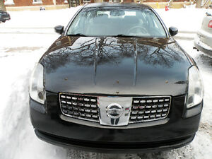 2004 Nissan Maxima SE ,Full Equip,158000 km,Double Sunroof