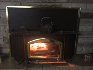 Used Napoleon Wood Burning Fireplace Insert