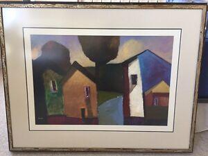 Beautiful Downe Burns Painting