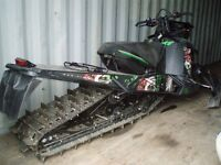 Now parting out a 2012 Arctic Cat M1100 Turbo 162
