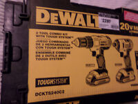 Dewalt 20V MAX Lithium-ion Combo Kit W/ Tough Case