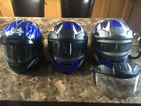 Ski-Doo helmets & Polaris gun boot for sale