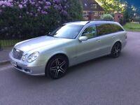 Merceds E 320 C D I Diesel auto estate 2005 £2995 PX poss