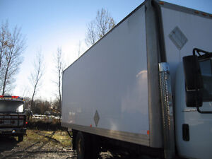 """24'6"""" cargo box for truck (not insulated)"""