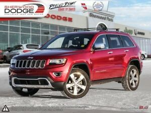 2015 Jeep Grand Cherokee Limited  | HEATED 1ST/2ND ROW | LUXURY