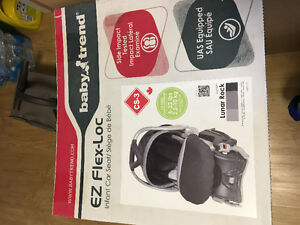 Baby trend car seat bought in oct 2016 used twice.