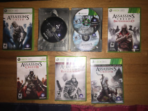 XBOX 360 ASSASSIN'S CREED COLLECTION