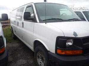 2007 Chevrolet Express Cargo Van Minivan, Van Kitchener / Waterloo Kitchener Area image 4