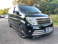 FRESH IMPORT 2006 06 PLATE FACE LIFT NISSAN ELGRAND RIDER AUTEC ONLY 29000 MILES