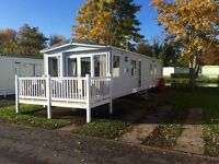 3 bedroom static caravan for hire Haggerston castle prices from £200.00 pw
