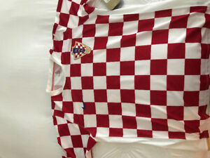 Croatia XL brand new soccer jersey with tags still on