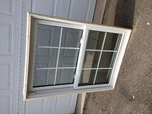 Double hunge window