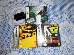 Set of 4 Nintendo DS video Games