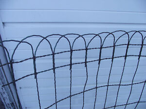 Antique Braided Wire Fencing Kingston Kingston Area image 2