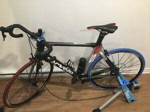 BICYCLE CERVELO S5 WITH TACX TRAINER (OR BEST OFFER)