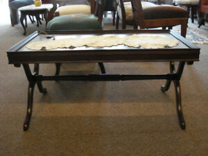 Vintage Mahogany Coffee Table